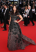 Aishwarya Rai  attends the 'Inside Llewyn Davis' Red Carpet during the 66th Annual Cannes Film Festival at the Palais des Festivals on May 19, 2013 in Cannes, France.