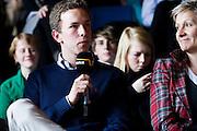 Heppenheim - Oberhambach | April 16, 2010..Diskussionsveranstaltung an der Odenwaldschule anlaesslich der bekannt gewordenen F?lle von Missbrauch und sexualisierter Gewalt. Hier: Maximilian Priebe, Schuelersprecher und Praesident des Schulparlaments.  ..Foto: peter-juelich.com