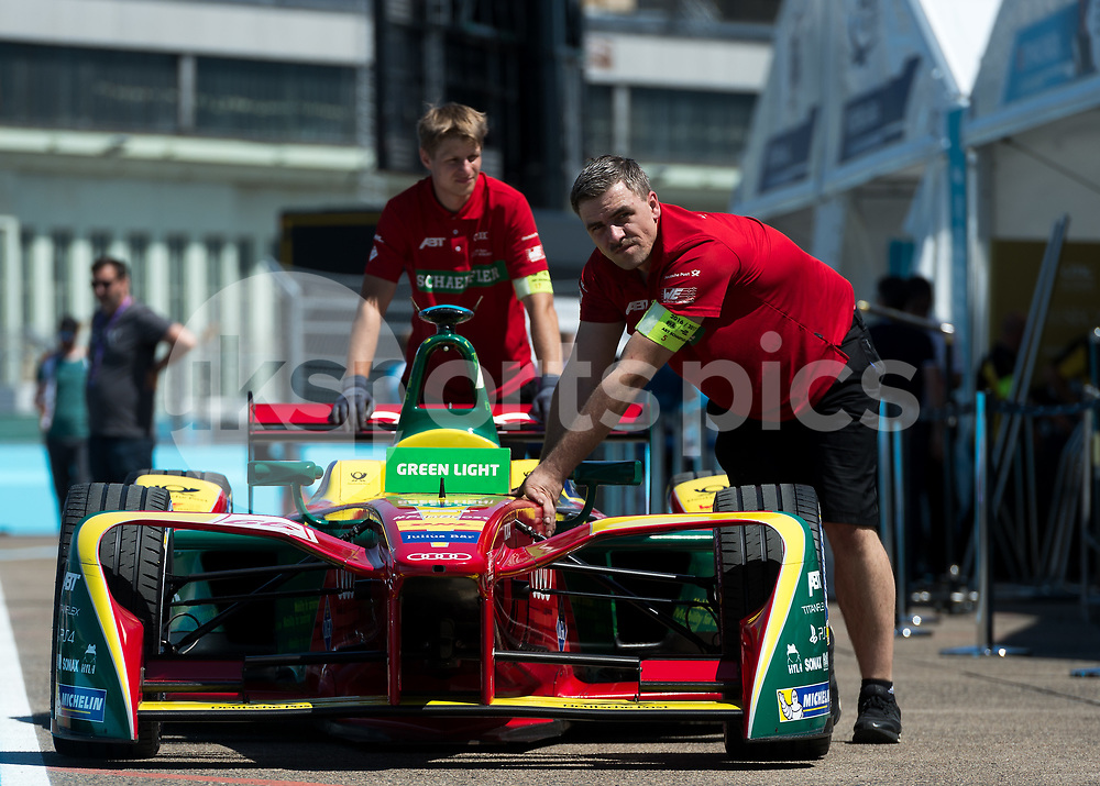 during the Berlin FIA Formula E ePrix 2017 at Tempelhof Airport, Berlin, Germany on 10 June 2017. Photo by Vince Mignott.