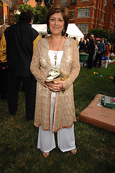 Actress LYNDA BELLINGHAM at the Lady Taverners Westminster Abbey Garden Party, The College Garden, Westminster Abbey, London SW1 on 10th July 2007.<br /><br />NON EXCLUSIVE - WORLD RIGHTS