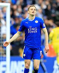 Andy King of Leicester City  - Mandatory by-line: Matt McNulty/JMP - 24/04/2016 - FOOTBALL - King Power Stadium - Leicester, England - Leicester City v Swansea City - Barclays Premier League