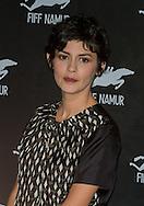"""Audrey Tautou """"Coup de coeur"""" lors de la  29eme édition du Festival du Film Francophone, Namur le 03 octobre 2014 Belgique"""