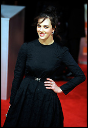 Jessica Brown Findlay. arrives for the 2012 ORANGE BRITISH ACADEMY FILM AWARDS, The Bafta's at The Royal Opera House, Covent Garden, London. Photo By Andrew Parsons/ I-Images