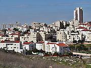 Israel, Center District, Modi'in cityscape established 1993