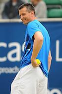 Picture by Ste Jones/Focus Images Ltd.  07706 592282.21/06/12.Richard Krajicek (NED) at the +medicash Liverpool International 2012 tennis at Calderstones Park, Liverpool.