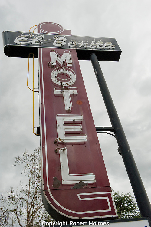 El Bonita Motel, St. Helena, Napa Valley, California