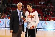 DESCRIZIONE : Istanbul Fiba Europe Euroleague Women 2011-2012 Final Eight Rivas Ecopolis Galatasaray MP<br /> GIOCATORE : Nar Zanolin Alba Torrens<br /> SQUADRA : Galatasaray MP Fiba Europe<br /> EVENTO : Euroleague Women<br /> 2011-2012<br /> GARA : Rivas Ecopolis Galatasaray MP<br /> DATA : 28/03/2012<br /> CATEGORIA : MVP Best player of Euroleague season<br /> SPORT : Pallacanestro <br /> AUTORE : Agenzia Ciamillo-Castoria/ElioCastoria<br /> Galleria : Fiba Europe Euroleague Women 2011-2012 Final Eight<br /> Fotonotizia : Istanbul Fiba Europe Euroleague Women 2011-2012 Final Eight Rivas Ecopolis Galatasaray MP<br /> Predefinita :