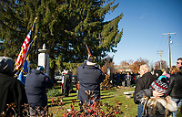 Veteran's Day service in Laconia.  Karen Bobotas for the Laconia Daily Sun