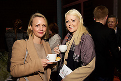 29/10/2015<br /> IAB Conference at the Guinness Storehouse.<br /> (l-r):<br /> Elaine Bresnan (OMD) and<br /> Doireann Murray (Sheology Digital).