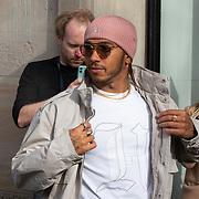 NLD/Amsterdam/20200229 - Lewis Hamilton lanceert de kledinglijn TommyXLewis, Lewis Hamilton