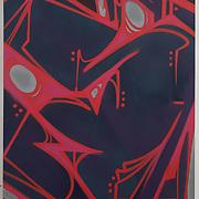 """Aerosol on Canvas, 36""""x48"""""""