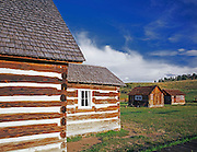 AA03483-02...COLORADO - Ranch houses in Florissant Fossil Beds National Monument