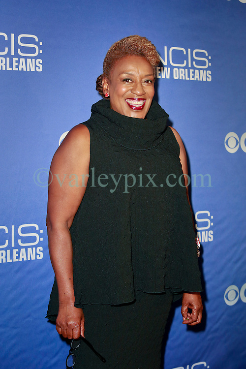 17 September 2014. New Orleans, Louisiana.<br /> NCIS New Orleans. CBS Red carpet event at the WW2 Museum.<br /> Actor CCH Pounder - &quot;Dr Loretta Wade.&quot;<br /> Photo Credit; Charlie Varley/varleypix.com