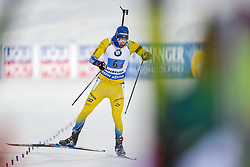 March 16, 2019 - –Stersund, Sweden - 190316 Sebastian Samuelsson of Sweden  competes in the Men's 4x7,5 km Relay during the IBU World Championships Biathlon on March 16, 2019 in Östersund..Photo: Petter Arvidson / BILDBYRÃ…N / kod PA / 92269 (Credit Image: © Petter Arvidson/Bildbyran via ZUMA Press)
