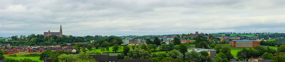 View looking East from Mullacreevie Park overlooking Armagh