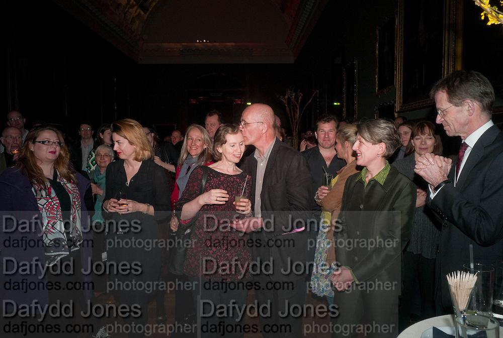 JULIE NORRIS; PATRICK KEILLER; PENELOPE CURTIS; SIR NICHOLAS SEROTA Patrick Keiller The  Robinson Institute,  The Duveens Commission: - Tate Britain, Millbank, London. 26 March 2012.