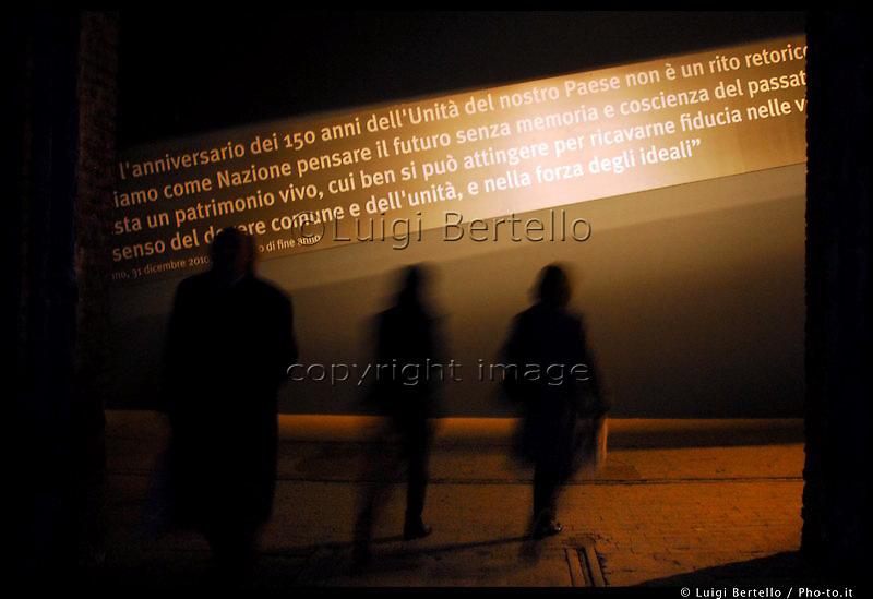 Le mostre multimediali sugli Italiani, in occasione del 150° anniversario alle OGR (Officine Grandi Riparazioni)