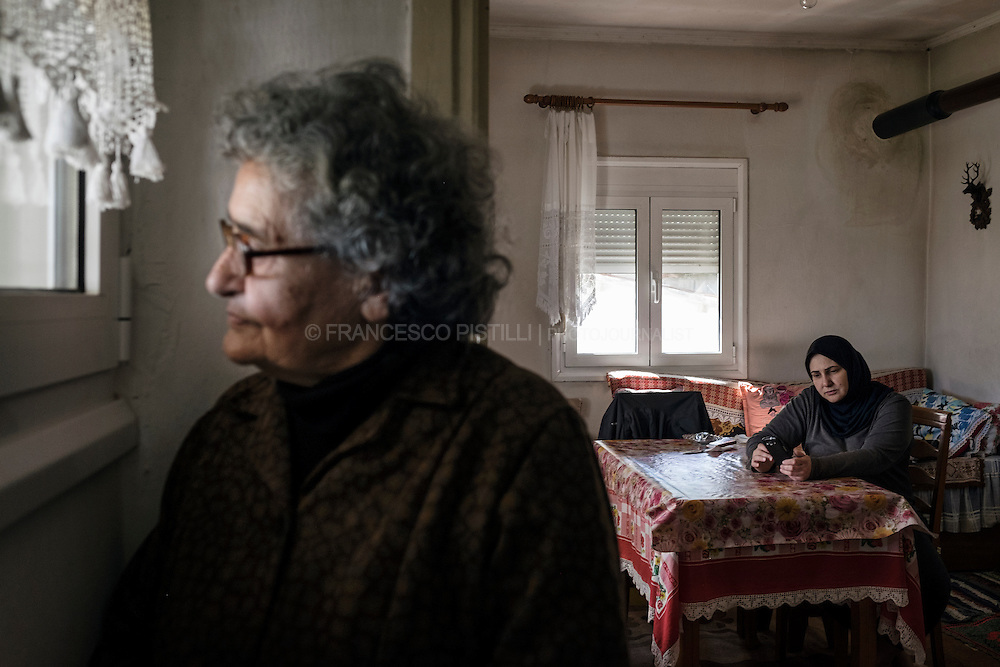 "Panagiota Vasileiadou, also called ""the refugees' grandmother of Idomeni"" is a Greek woman 82-year-old. She is welcoming five Syrian refugees into her home."