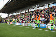 A Boards during the EFL Sky Bet League 2 match between Forest Green Rovers and Newport County at the New Lawn, Forest Green, United Kingdom on 31 August 2019.