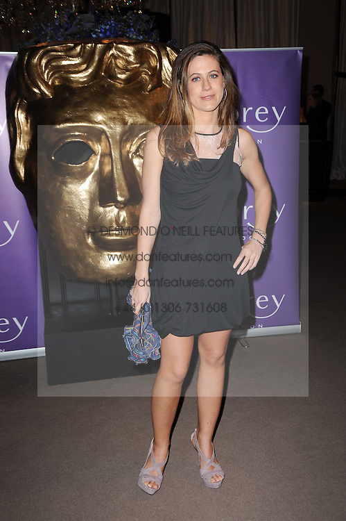 FRANCESCA VERSACE at the Orange BAFTA's Nominees party held at Asprey, 165 New Bond Street, London on 20th February 2010.