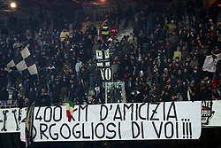 """Foto /Filippo Rubin<br /> 21/12/2017 Cesena (Italia)<br /> Sport Calcio<br /> Cesena - Palermo - Campionato di calcio Serie B ConTe.it 2017/2018 - Stadio """"Dino Manuzzi""""<br /> Nella foto: I TIFOSI DEL CESENA<br /> <br /> Photo /Filippo Rubin<br /> Dicember 21, 2017 Cesena (Italy)<br /> Sport Soccer<br /> Cesena vs Palermo - Italian Football Championship League B 2017/2018 - """"Dino Manuzzi"""" Stadium <br /> In the pic: CESENA SUPPORTERS"""