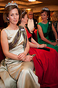 LADY LOUISE BURRELL; LADY EMMA MAHMOOD; IONA DUCHESS OF ARGYLL, , The Royal Caledonian Ball 2011. In aid of the Royal Caledonian Ball Trust. Grosvenor House. London. W1. 13 May 2011.<br /> <br />  , -DO NOT ARCHIVE-© Copyright Photograph by Dafydd Jones. 248 Clapham Rd. London SW9 0PZ. Tel 0207 820 0771. www.dafjones.com.