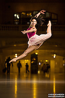 Dance As Art The New York Photography Project Grand Central Series with dancer Jaclyn Scerbak