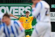 Brighton - Saturday 13th February, 2010:Grant Holt of Norwich City celebrates his equaliser during the Coca Cola League One match at The Withdean, Brighton...(Pic by Alex Broadway/Focus Images)