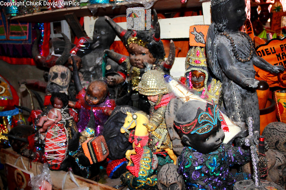 Voodoo Symbols For Sale In The Iron Market Of Port Au Prince Haiti