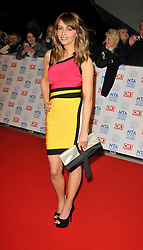 Samia arrives At The annual National Television Awards 2013, The O2 Arena, Greenwich, London, UK, January 28, 2013. Photo by i-Images.