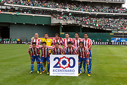 March 26, 2011; Oakland, CA, USA;  Paraguay poses for a team photo before the game against Mexico at Oakland-Alameda County Coliseum. Mexico defeated Paraguay 3-1.