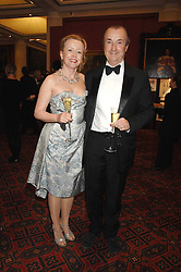 Actress ANGHARAD REES and MR DAVID McALPINE at a Gala dinner in aid of Chickenshed held at the Guildhall, City of London on 29th October 2007.<br /><br />NON EXCLUSIVE - WORLD RIGHTS