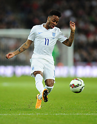 Raheem Sterling of England (Liverpool)  - Photo mandatory by-line: Joe Meredith/JMP - Mobile: 07966 386802 - 15/11/2014 - SPORT - Football - London - Wembley - England v Slovenia - EURO 2016 Qualifier