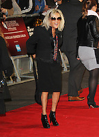 LONDON - OCTOBER 18: Annie Nightingale attended the screening of 'Crossfire Hurricane' at the Odeon, Leicester Square, London, UK. October 18, 2012. (Photo by Richard Goldschmidt)