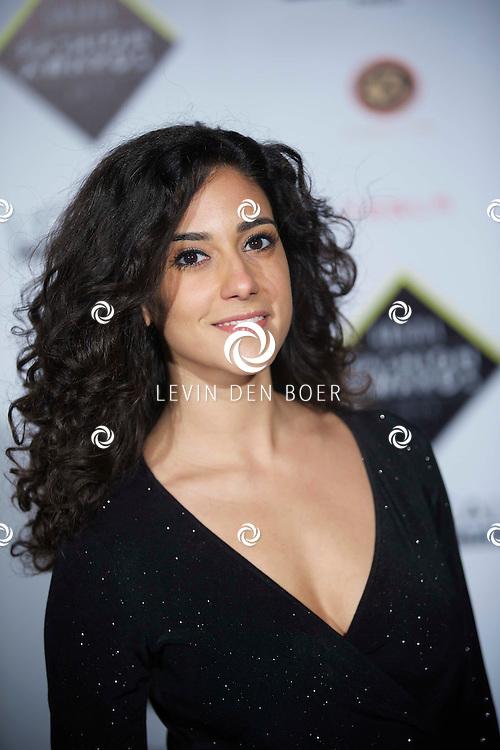 AMSTERDAM - De Grazia Awards 2014 zijn weer uitgereikt, menig BN'er kwam op dit event af. Met hier op de foto  Toprak Yalçiner. FOTO LEVIN DEN BOER - KWALITEITFOTO.NL