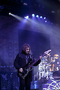 Geezer Butler images, performing live with Heaven & Hell at Madison Square Garden.