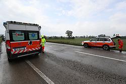 AMBULANZA 118<br /> INCIDENTE AUTO FUORI STRADA STRADA STATALE ADRIATICA SS16 FOSSANOVA SAN MARCO