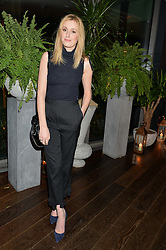 LAURA CARMICHAEL at a party to celebrate the Astley Clarke & Theirworld Charitable Partnership held at Mondrian London, Upper Ground, London on 10th March 2015.