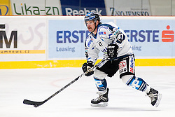 30.11.2014, Ice Rink, Znojmo, CZE, EBEL, HC Orli Znojmo vs EHC Black Wings Linz, 23. Runde, im Bild Curtis Murphy (Linz ) // during the Erste Bank Icehockey League 23rd round match between HC Orli Znojmo and EHC Black Wings Linz at the Ice Rink in Znojmo, Czech Republic on 2014/11/30. EXPA Pictures © 2014, PhotoCredit: EXPA/ Rostislav Pfeffer