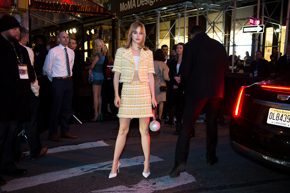 Suki Waterhouse at Chanel's Tribeca Film Festival Dinner 2018