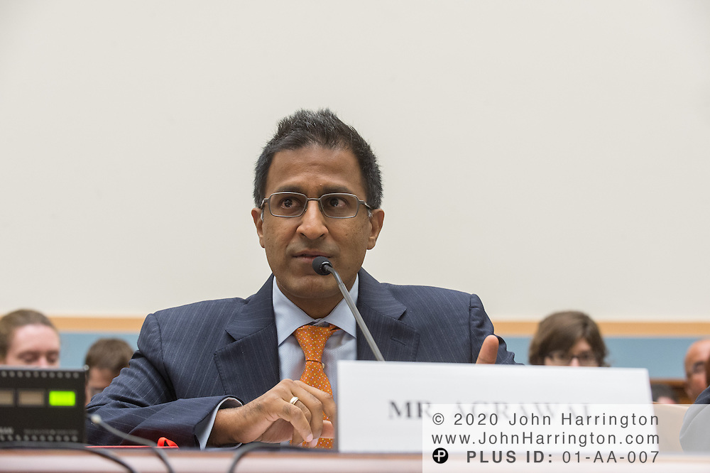 """Rakesh Agrawal, Founder & CEO, SnapStream Media, testifies before the House Committe on the Judiciary on """"Innovation in America: The Role of Technology"""", August 1, 2013on Capitol Hill in Washington, DC."""