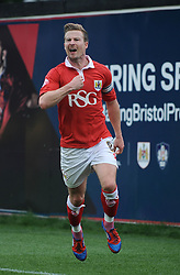 Bristol City's Wade Elliott celebrates his winning goal. - Photo mandatory by-line: Dougie Allward/JMP - Mobile: 07966 386802 - 27/09/2014 - SPORT - Football - Bristol - Ashton Gate - Bristol City v MK Dons - Sky Bet League One
