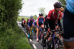 Lisa Brennauer (GER) of WNT Rotor Pro Cycling rides on Stage 5 of 2019 OVO Women's Tour, a 140 km road race from Llandrindod Wells to Builth Wells, United Kingdom on June 14, 2019. Photo by Balint Hamvas/velofocus.com