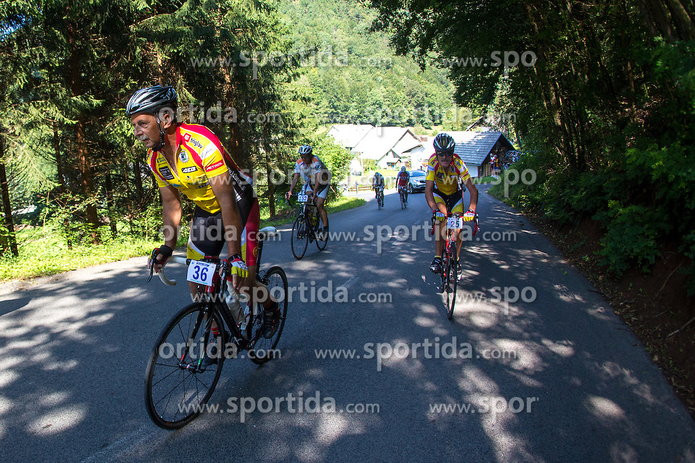 at 8. Kolesarski vzpon na Krvavec from Grad pri Cerkljah to Jezerca na Krvavcu, on August 2, 2014. Photo by Matic Klansek Velej / Sportida.com