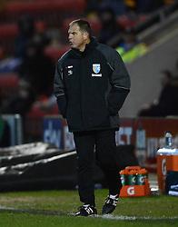 Gillingham Caretaker  Manager Steve Lovell looks on - Photo mandatory by-line: Richard Martin-Roberts - Mobile: 07966 386802 - 10/01/2015 - SPORT - Football - Crewe - Alexandra Stadium - Crewe Alexandra v Gillingham - Sky Bet League One