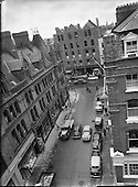 1956 - Views of Exchequor Street, Dublin, Ireland