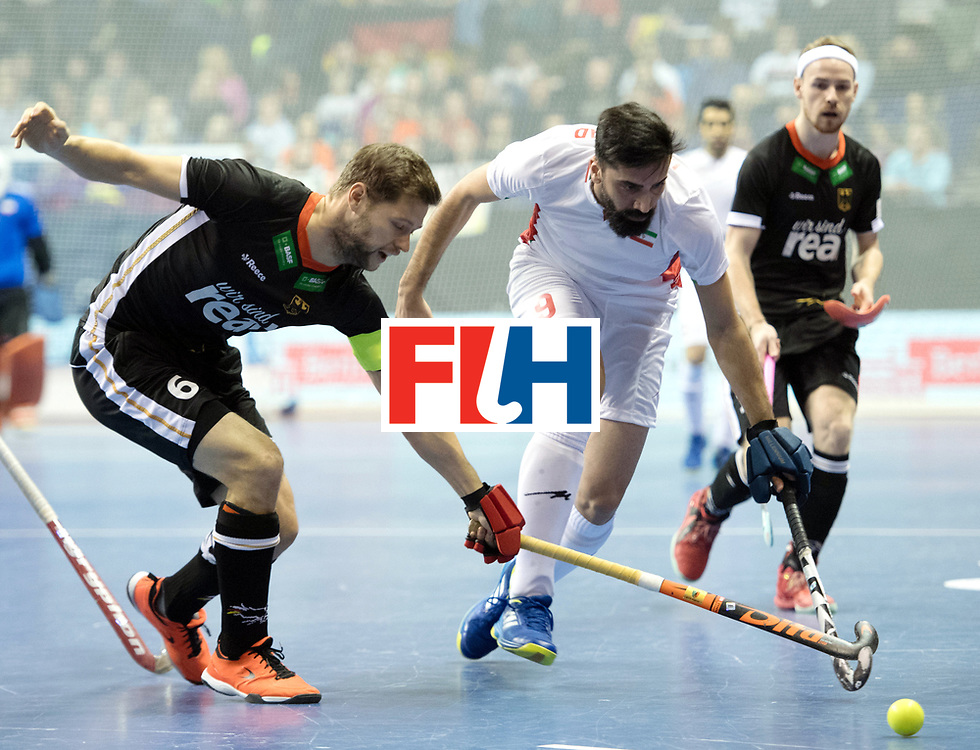 BERLIN - Indoor Hockey World Cup<br /> SF1 Germany - Iran<br /> foto: Martin H&auml;ner Navid Taherirad <br /> WORLDSPORTPICS COPYRIGHT FRANK UIJLENBROEK