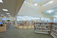 Interior Design Photographer Jeffrey Sauers of Commercial Photographics of Maryland Image of Harford County Public Library Whitford Branch interior for Mullan Contracting Company and Lawrence Howard and Associates