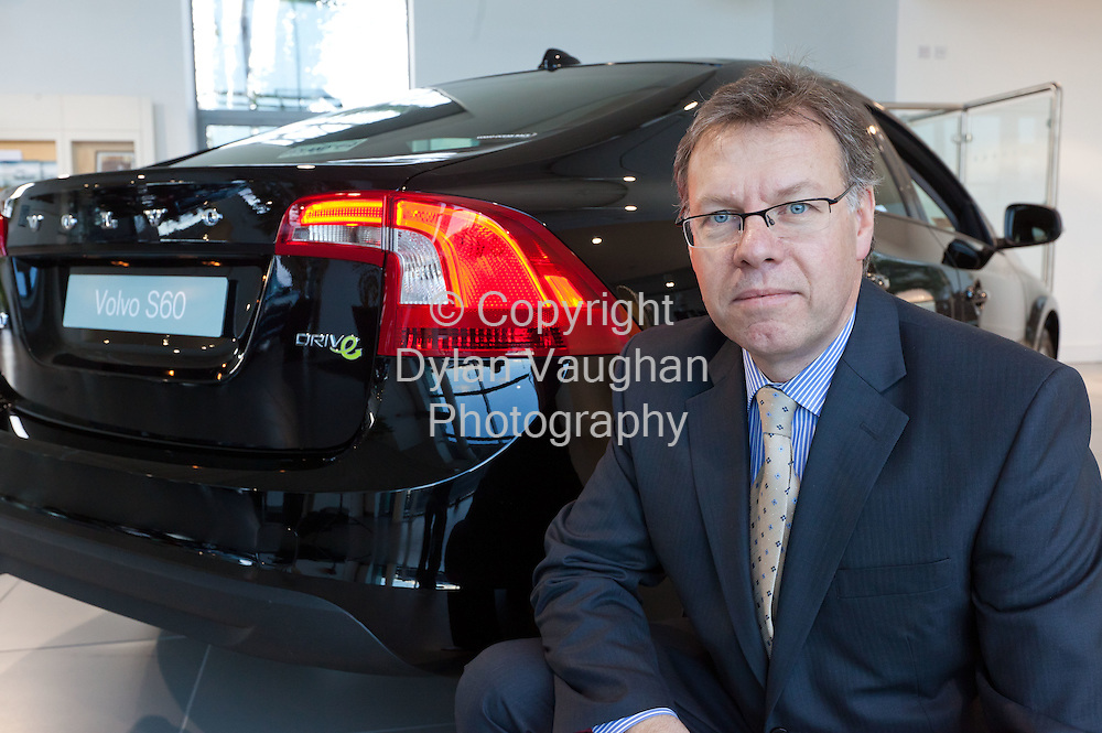 10/11/11.David Baddeley,  Managing Director, Volvo Car Ireland Limited..Picture Dylan Vaughan