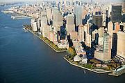 Battery Park City<br /> <br /> Esplanade from Robert F. Wagner Jr. Park to Governor Nelson A Rockefeller Park<br /> <br /> Landscape designed by Olin